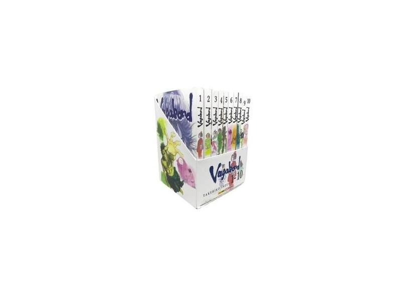 Vagabond - Caixa com Volumes 1-10 - Takehiko Inoue - 9788542613858