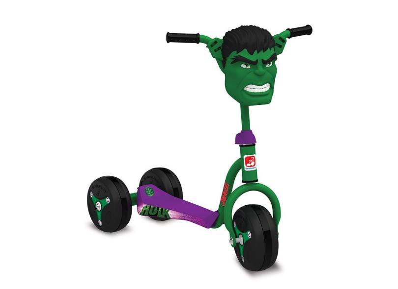 Patinete Hulk Bandeirante 3006