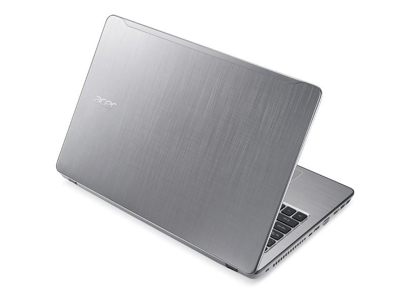 "Notebook Acer Aspire F Intel Core i5 7200U 8GB de RAM HD 1 TB 15,6"" GeForce 940MX Windows 10 Home F5-573G-50KS"