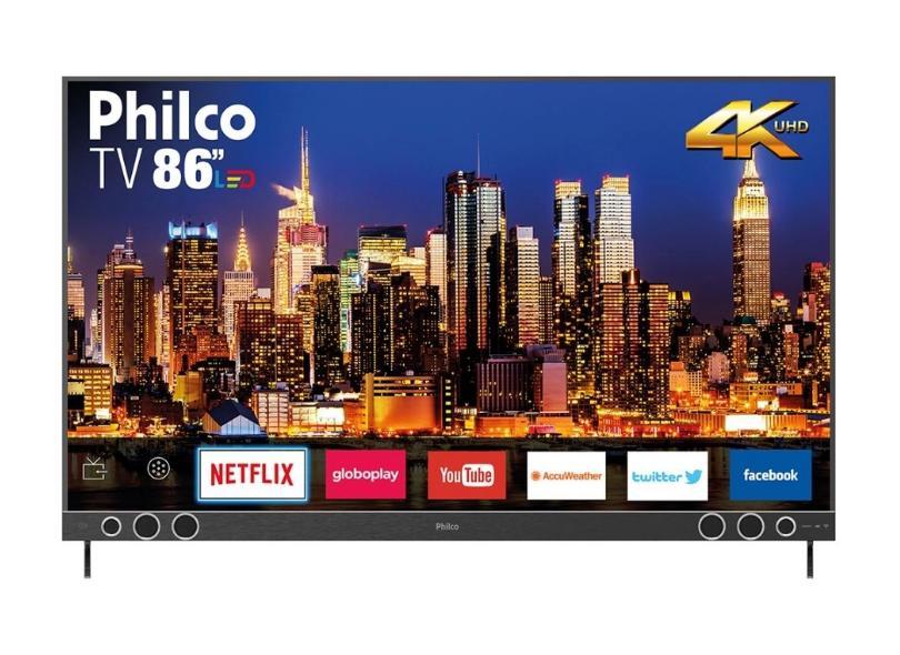 """Smart TV TV LED 86 """" 4K HDR PTV86P50SNSG 4 HDMI"""