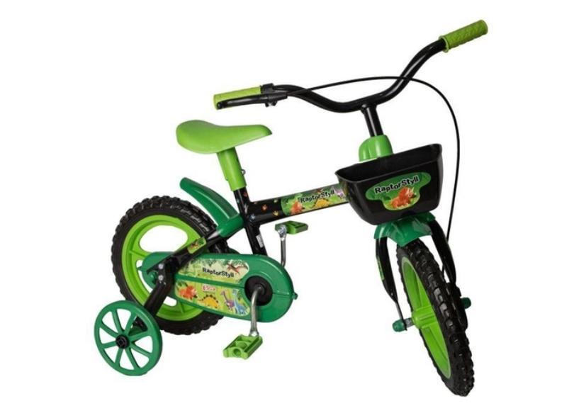 Bicicleta Styll Kids Lazer Aro 12 Raptor