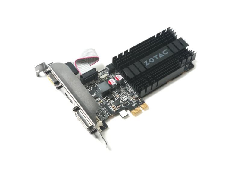 Placa de Video NVIDIA GeForce GT 710 1 GB DDR3 64 Bits ZT-71304-20L