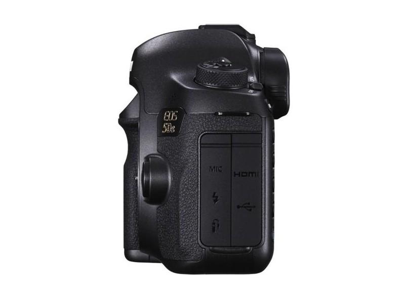 Câmera Digital DSLR(Profissional) Canon EOS 50.6 MP Full HD EOS 5DS