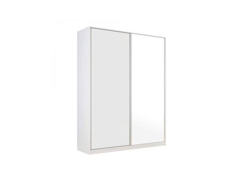 Guarda-Roupas Solteiro 2 Portas 2 Gavetas com Espelho Terrazo Siena Móveis