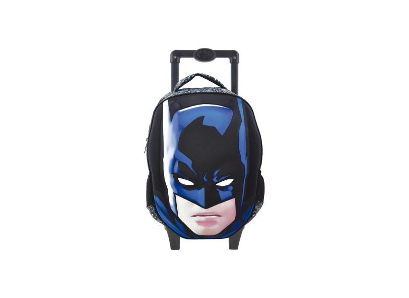 Mochila com Rodinhas Escolar Xeryus Batman Batman Glare 16 6190