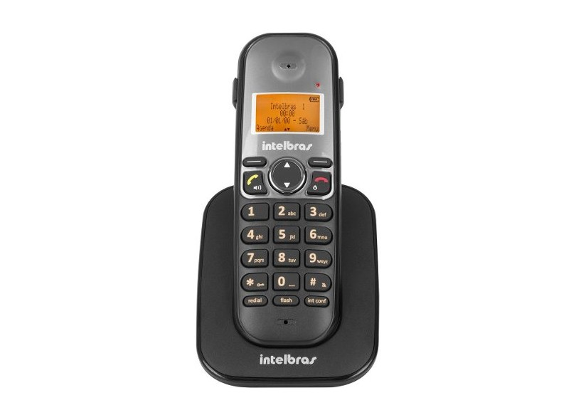 Telefone sem Fio Intelbras com 4 Ramais TS 5150 + 4