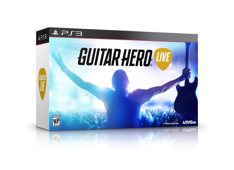 Jogo Guitar Hero Live PlayStation 3 Activision