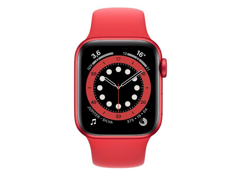 Smartwatch Apple SmartWatch Series 6 Vermelho 40.0 mm