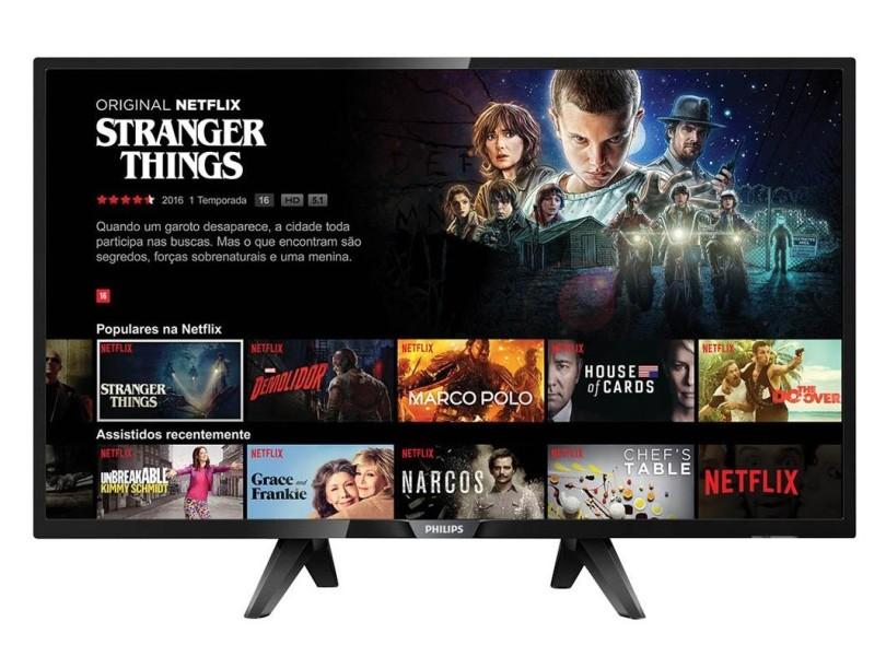 """Smart TV TV LED 43"""" Philips Série 5102 Full HD 43PFG5102"""
