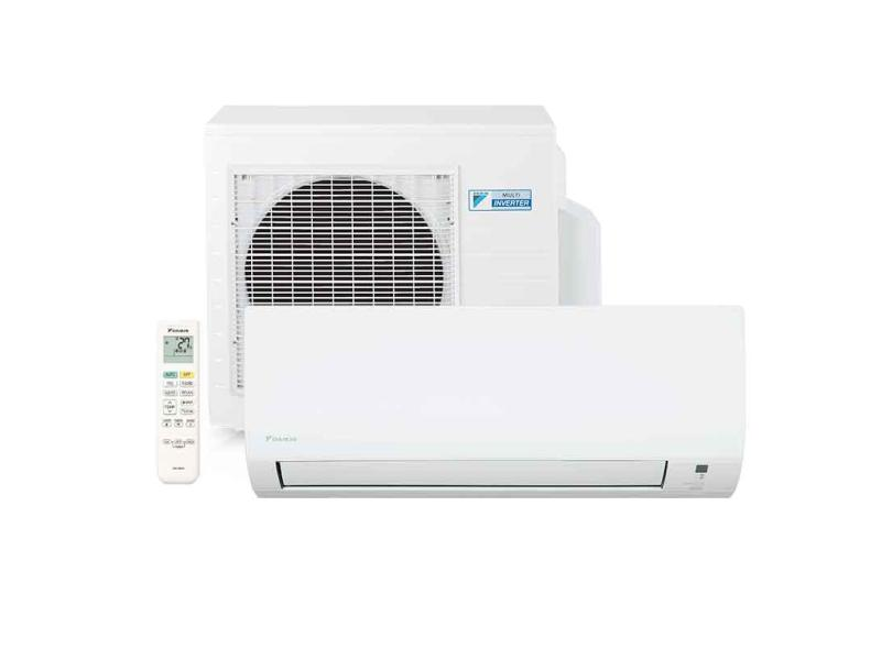 Ar Condicionado Split Hi Wall Daikin Advance 9000 BTUs Inverter Controle Remoto Quente/Frio FTH09P5VL / RH09P5VL