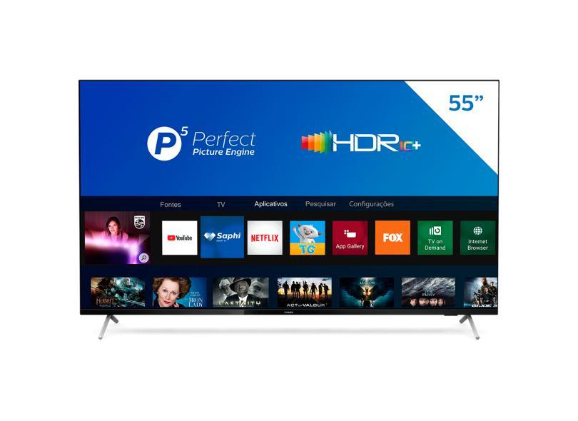 "Smart TV TV LED 55 "" Philips 4K 55PUG7625/78 3 HDMI"