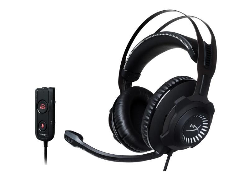 Headset com Microfone HyperX Cloud Revolver S