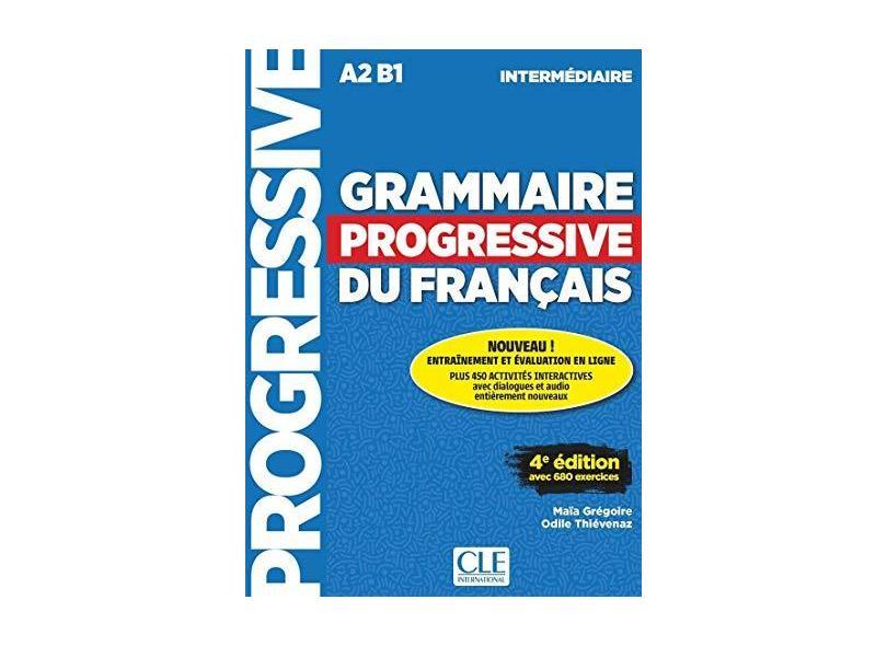 Grammaire Progressive Du Français - Niveau Intermédiaire - Maïa Gregoire - 9782090381030