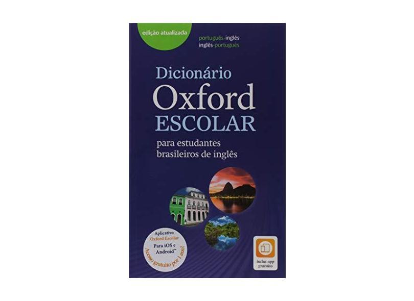 Dicionário Oxford Escolar. Para Est. B. De Inglês - Vários Autores - 9780194403566