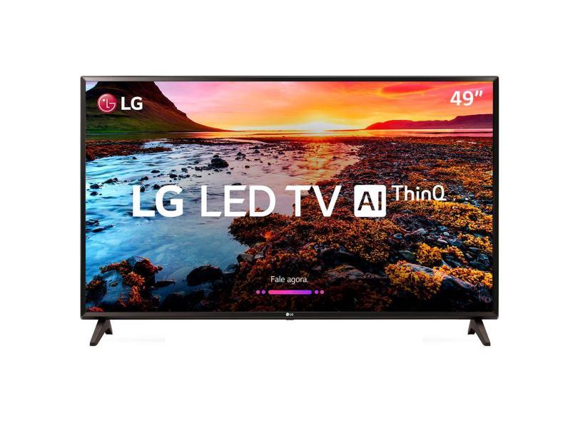 """Smart TV TV LED 49 """" LG ThinQ AI Full Netflix 49LK5700PSC 2 HDMI"""