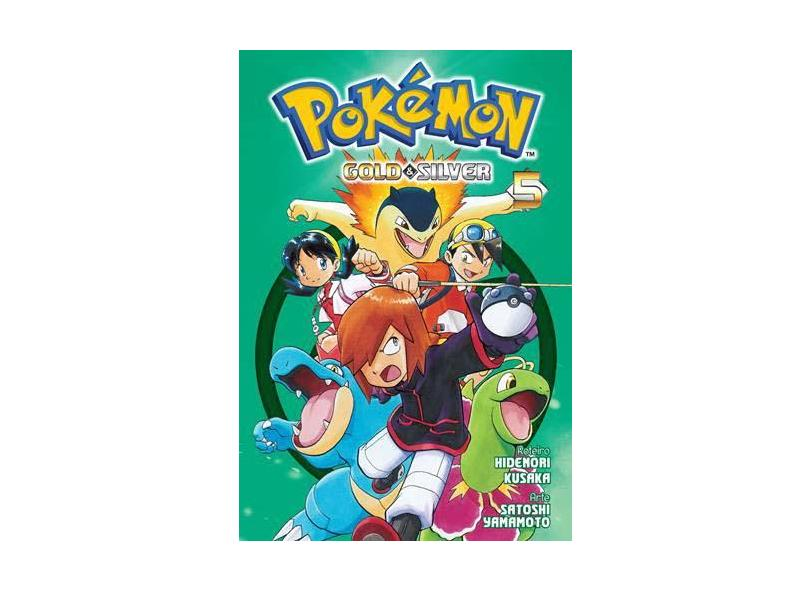 Pokémon Gold & Silver Vol. 5 - Mato - 9788542613483