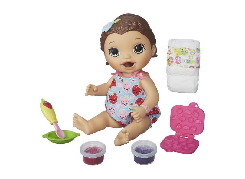Boneca Baby Alive Lanchinhos Divertidos Hasbro