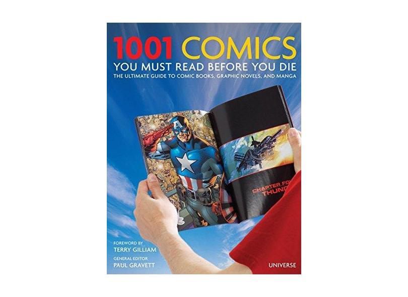"1001 Comics You Must Read Before You Die - ""gravett, Paul"" - 9780789327314"