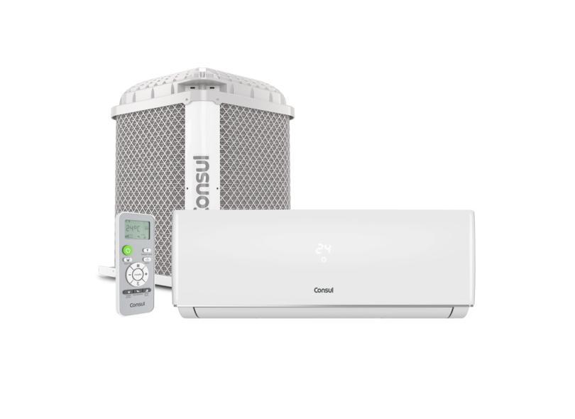 Ar Condicionado Split Hi Wall Consul 12000 BTUs Controle Remoto Frio CBN12CB