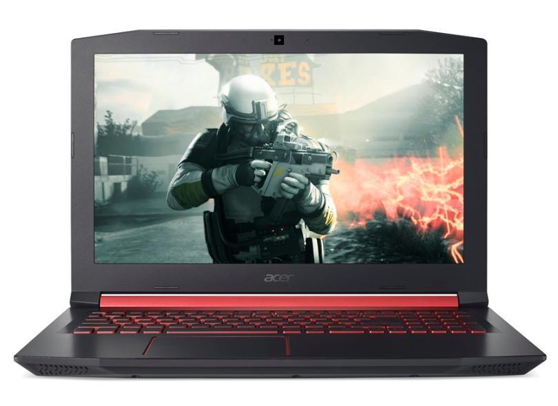 """Notebook Acer Aspire Nitro 5 Intel Core i7 7700HQ 7ª Geração 16 GB de RAM 1024 GB 15.6 """" GeForce GTX 1050 Ti Windows 10 AN515-51-78D6"""