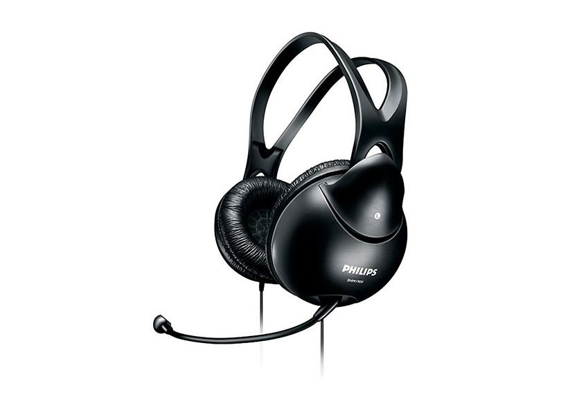 Headset com Microfone Controle de Volume Philips SHM1900/00