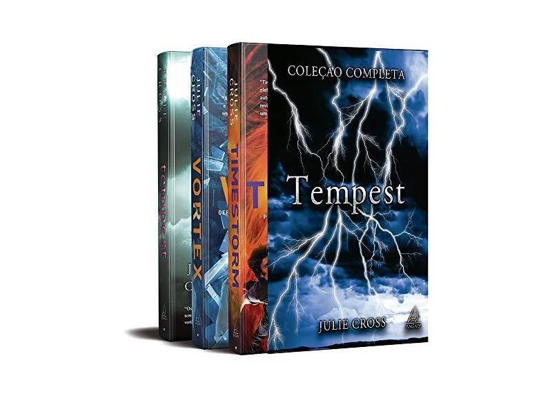 Box Tempest - 3 Volumes - Julie Cross - 9788555390326