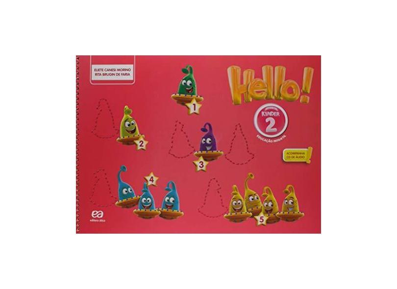 Hello! - Kinder 2 - Eliete Morino - 9788508190256