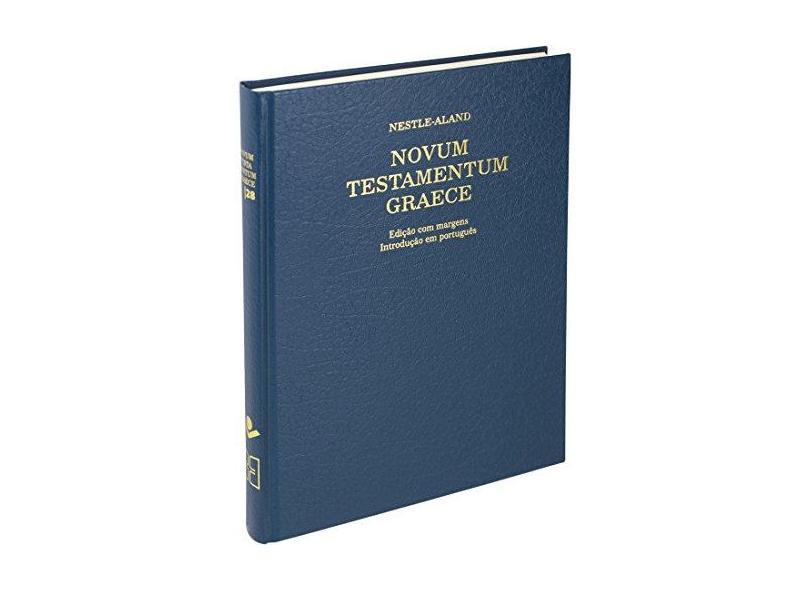 Novum Testamentum Graece Na28 Nestle-Aland - Vários Autores - 9788531116292