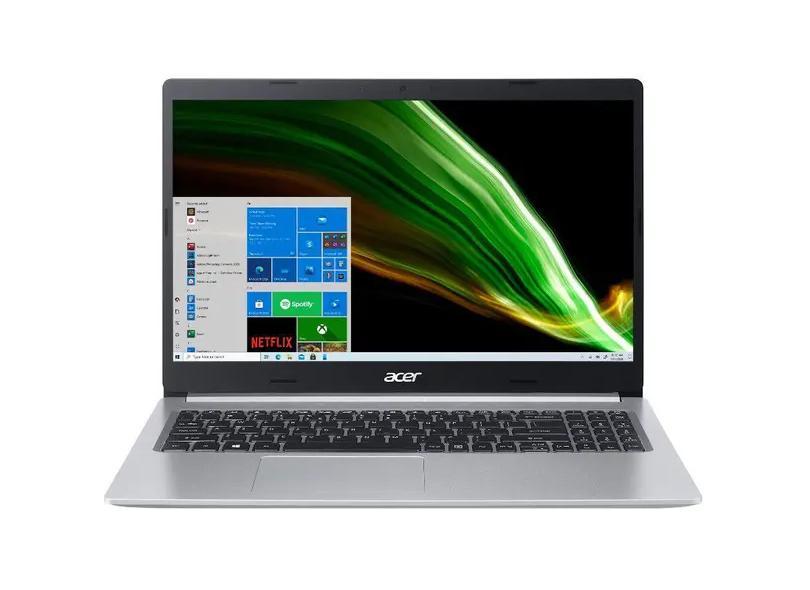 """Notebook Acer Aspire 5 Intel Core i5 1035G1 10ª Geração 8 GB de RAM 256.0 GB 15.6 """" Windows 10 A515-55-592C"""
