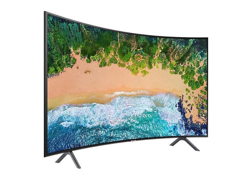 """Smart TV TV LED 49 """" Samsung 4K Netflix 49NU7300 3 HDMI"""