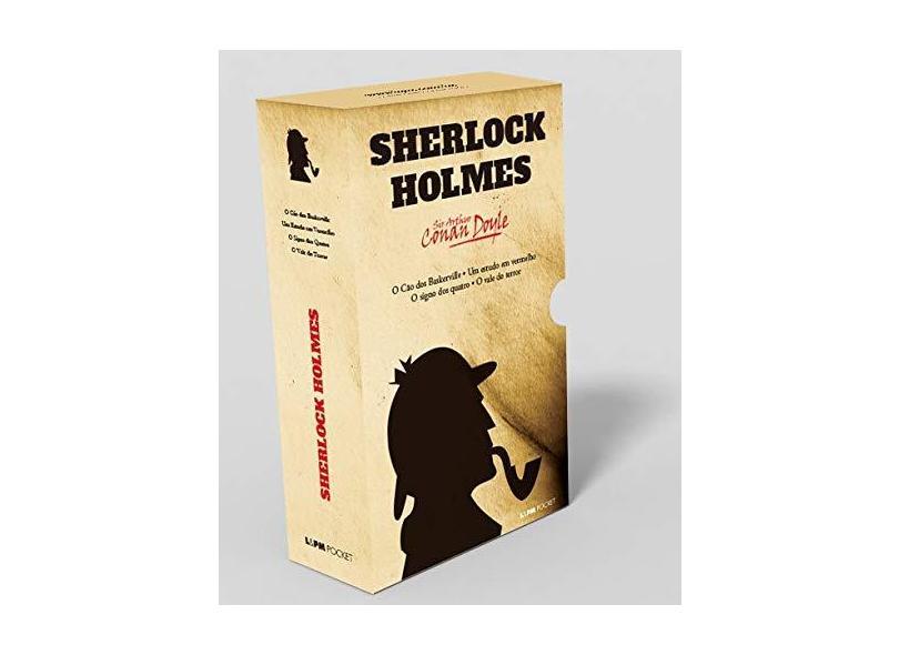 Sherlock Holmes - Caixa Especial com 4 Volumes. Coleção L&PM Pocket - Sir Arthur Conan Doyle - 9788525433084