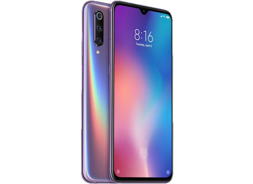 Smartphone Xiaomi Mi 9 64GB 48.0 + 16.0 + 12.0 MP 2 Chips Android 9.0 (Pie) 4G Wi-Fi