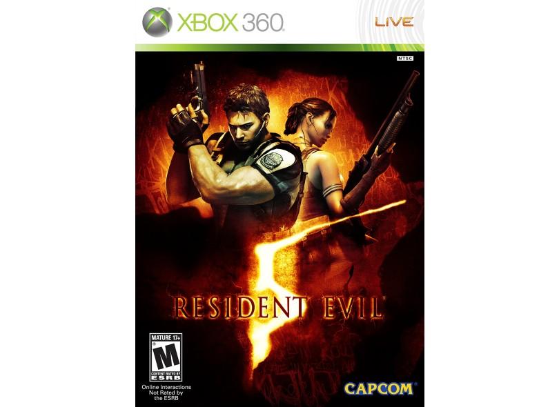 Jogo Resident Evil 5 Gold Edition Xbox 360 Capcom