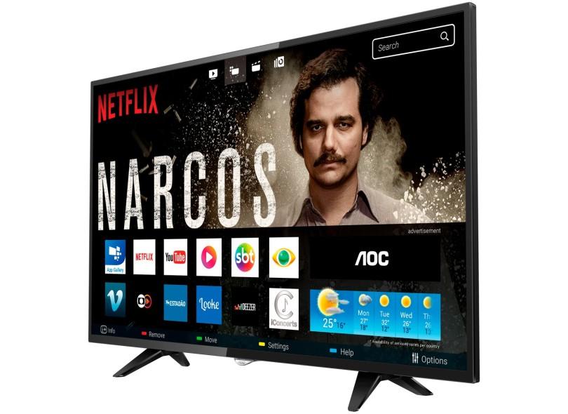 "Smart TV TV LED 32 "" AOC Série 5000 LE32S5970"