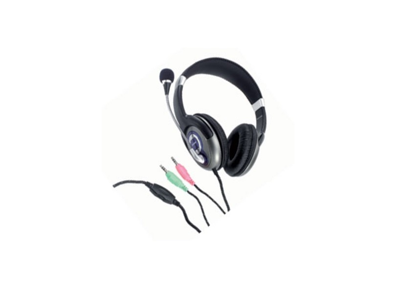 Headset com Microfone Controle de Volume do Microfone PH031 Multilaser