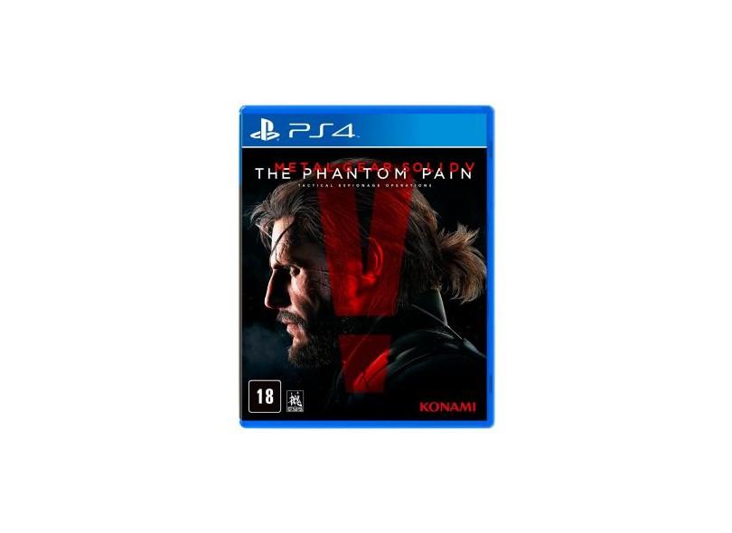 Jogo Metal Gear Solid PS4 Konami