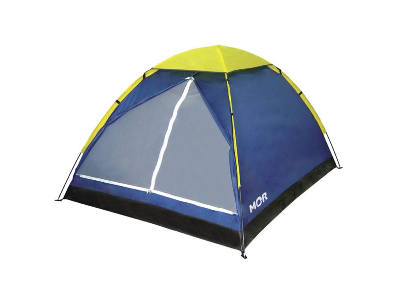 Barraca de Camping Para 4 Pessoas Mor Iglu
