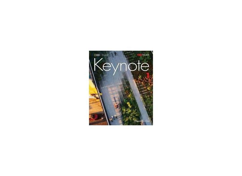 Keynote - Ame - 1 - Student Book With Keynote Online Sticker - David Bohlke - 9781337104104