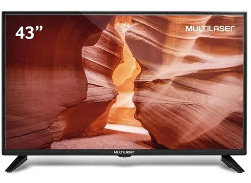 """TV LED 43 """" Multilaser Full TL023 2 HDMI"""