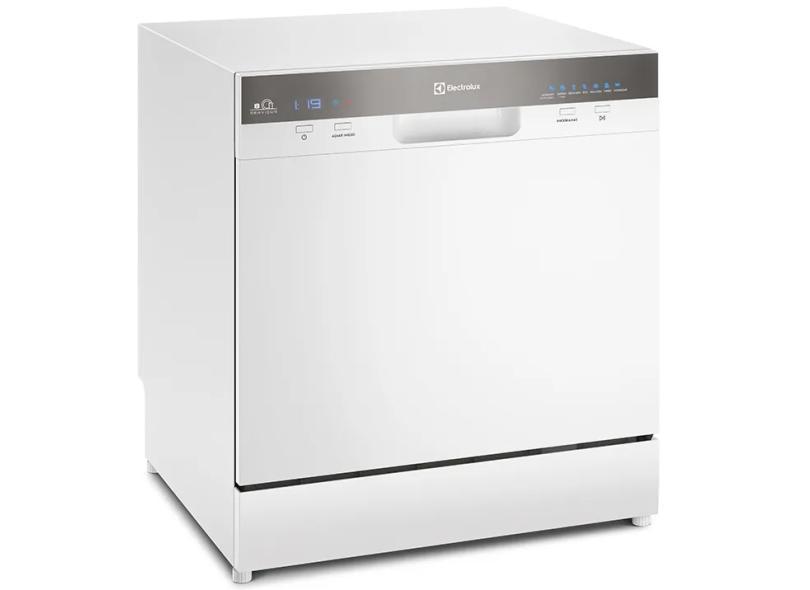 Lava-louças 8 Serviços Electrolux LL08B Inox
