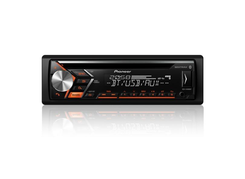 CD Player Automotivo Pioneer DEH-S4080BT