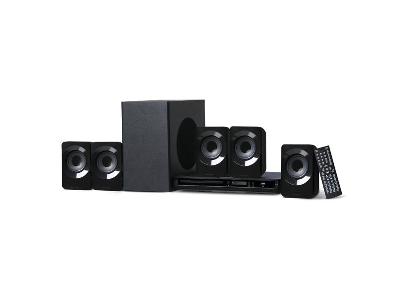 Home Theater Multilaser com DVD 320 W 5.1 Canais SP268