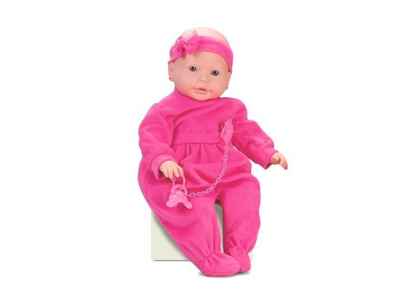 Boneca Bebê Mania Xixi Roma Brinquedos