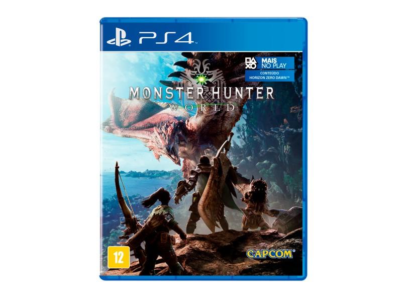 Jogo Monster Hunter World PS4 Capcom