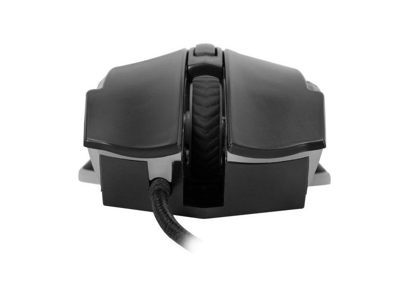 Mouse Óptico Gamer USB Pro M5 Rgb - Fortrek