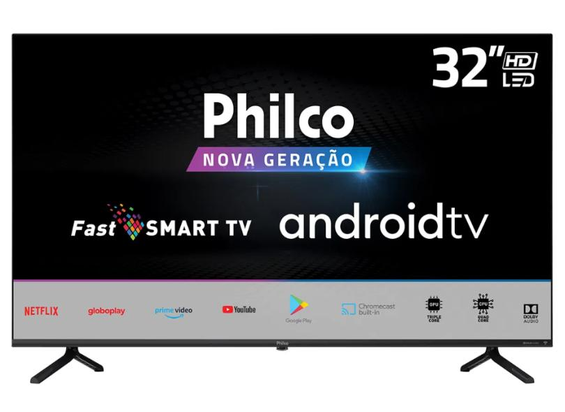"Smart TV TV LED 32.0 "" Philco PTV32E20AGBL 2 HDMI"