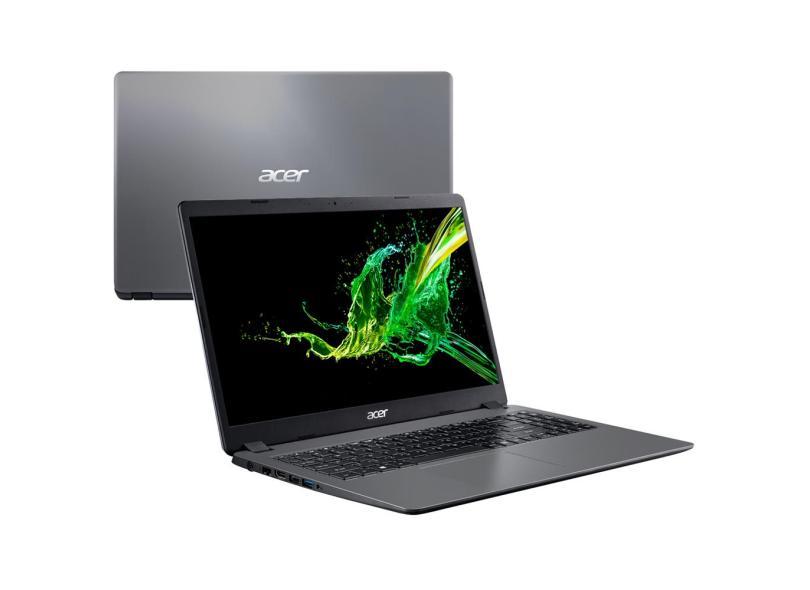 """Notebook Acer Aspire 3 Intel Core i3 6006U 6ª Geração 4 GB de RAM 1024 GB 15.6 """" Windows 10 A315-54K-31E8"""