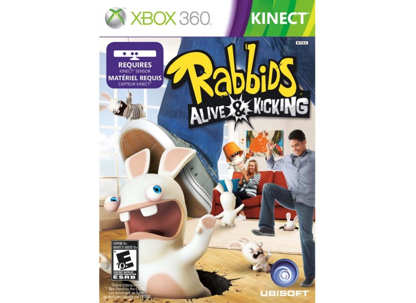 Jogo Rabbids Alive & Kicking Ubisoft Xbox 360