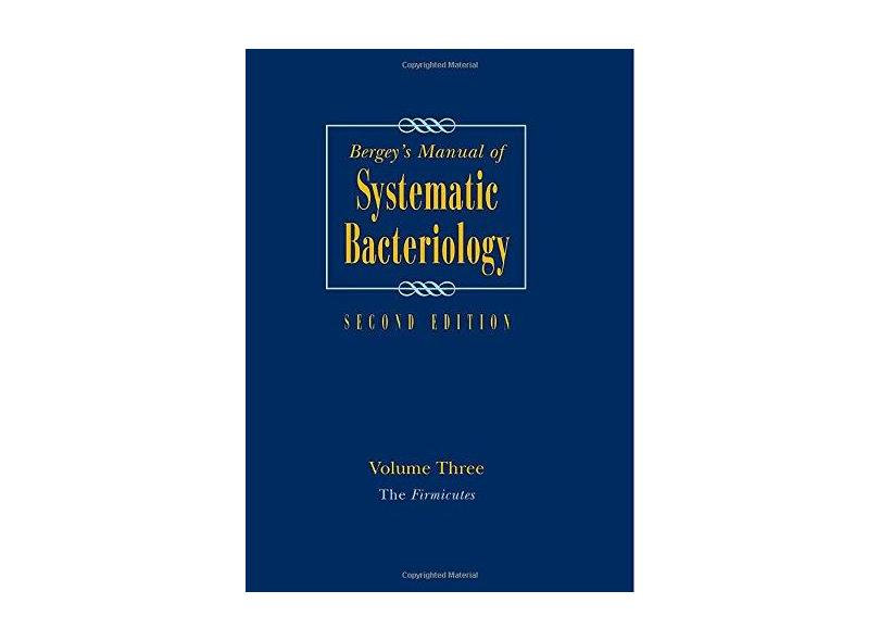BERGEYS MANUAL OF SYSTEM BACTERIOLOGY THE FIRMICUTES - Vos - 9780387950419