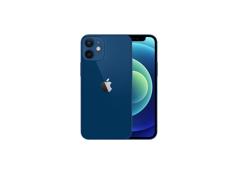 Smartphone Apple iPhone 12 Mini 4 GB 256GB Câmera Dupla Apple A14 Bionic iOS 14